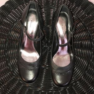 153b1791a4cd Etienne Aigner Shoes - Beautiful black leather Etienne Aigner heels!